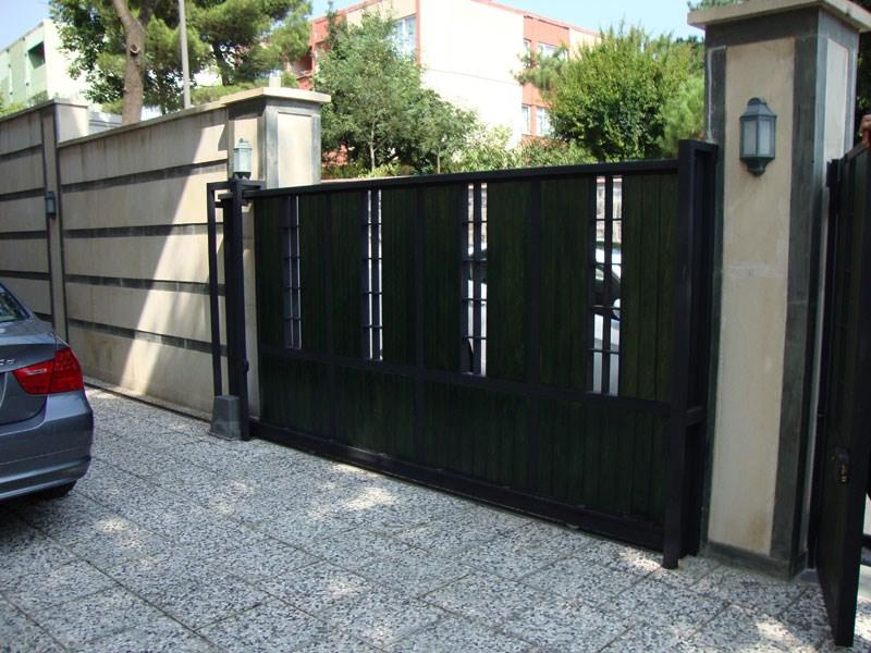 Sürgülü bahçe kapı sistemleri